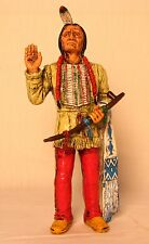 "Comansi of The Wild West Hand Painted 7"" Action Figure Sitting Bull"