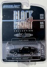 GREENLIGHT BLACK BANDIT SERIES 9 1977 PONTIAC FIREBIRD TRANS AM 1/4500