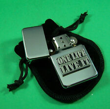 ONE LIFE LIVE IT Petrol Lighter in Pouch Free UK Post Extreme Sport Adventure