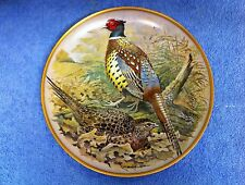 "BASIL EDE- GAME BIRDS OF THE WORLD - Ring Necked Pheasant - 9"" - Limoges France"