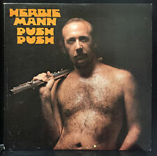 Herbie Mann - Push Push LP VG+ Embryo SD 532 Autographed Signed by 2