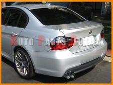 #354 Titan Silver M3 Look Trunk Spoiler Lip for BMW E90 3-Series Sedan 2005-2011