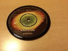 Vinyl Coaster Ringo Starr Original 45 Record Retro Birthday Only You 1974