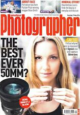 AP magazine with Sigma 50mm F1.4 DG HSM  & Tamron 70-210  46A  17th May 2014