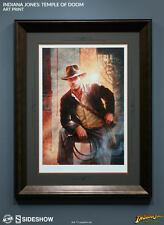 Sideshow INDIANA JONES FRAMED Temple of Doom Exclusive Premium Art Print