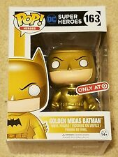 Funko Pop Golden Midas Batman Target Exclusive