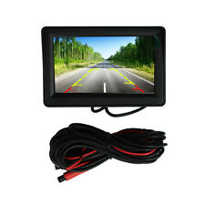 "Car Rear View 170° LED Night Vision Camera & 4.3"" Durable LCD Display Monitor"