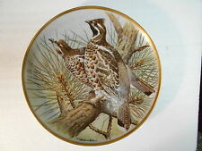 Collector Plate 1978 GAME BIRDS OF THE WORLD Hazel Grouse Basil Ede 9""