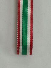 18 CM DI NASTRO MEDAGLIA DI GALA MIGNON UNITA' D' ITALIA UNITà VITTORIO EMANUELE