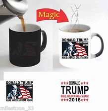 """Donald Trump 2016 Make America Great Again"" Color Change Magic Coffee Mug 11 Oz"