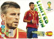 2014 Panini Adrenalyn World Cup EXCLUSIVE Gerard Pique Limited Edition MINT