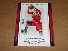 2014-15 National Treasures DWIGHT HOWARD #44 Premium Base SP/99 Houston ROCKETS