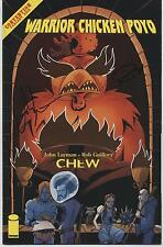 CHEW WARRIOR CHICKEN POYO #3 SDCC EXCL FOIL VARIANT Signed GUILLORY & LAYMAN