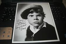 Tommy Butch Bond Signed Happy Birthday To Jason Autograph Photo Our Gang