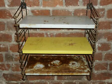 ETAGERE BUREAU TOMADO HOLLAND DESIGN AN 50/60 bookcase shelves vintage