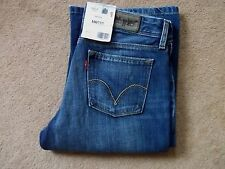 NEW Ladies Red Tab Levi 572 Bootcut Blue Jeans W29 L34