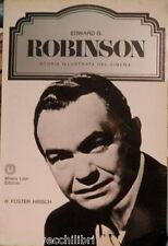 EDWARD G ROBINSON Storia illustrata del Cinema Foster Hirsch Milano Libri Storia