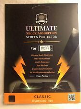 iPad 2 3 4 Ultimate Shock Absorbtion Screen Protector Crystal Clear Type