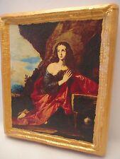 Saint Mary Magdalene Rare Christianity Roman Catholic Icon Art on Wood