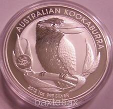 2012 *DRAGON PRIVY* AUSTRALIAN KOOKABURRA 1 oz SILVER COIN *BU* Only 80k minted!