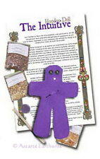 INTUITIVE HOODOO DOLL KIT WITH FULL INSTRUCTIONS Wicca Witch Pagan Goth VOODOO