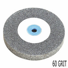 "New 6"" 150mm Heavy Duty Replacement Coarse Bench Grinding Wheel Disc 60 Grit"