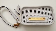 Juicy Couture White Perforated Wallet Purse Wristlet NWT