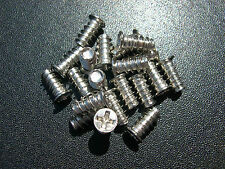 eXXtreme CPU Fan Mounting Screws - Silver - 20 Pack