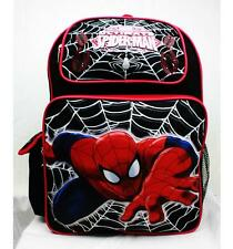 """Spiderman Backpack 16"""" Large NWT School Bag by Marvel Newest Style Limited RUZ"""
