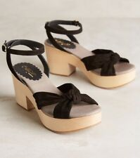 NEW Miss Albright Petra Clog Sandals Size 10 Anthropologie
