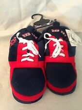 Boston Red Sox NEW Mens Small Big Sneaker Slippers . MLB Baseball Fan Home Warm