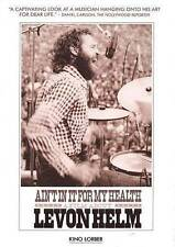 Aint In It For My Health: A Film About Levon Helm (DVD, 2013)
