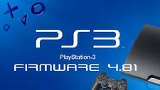 PS3 4.81 Update Official Firmware PLAYSTATION 3 Software FW OFW