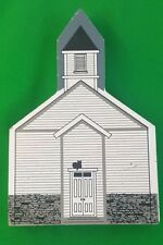 Cat's Meow Methodist Episcopal Church Metamora IN Signed Faline '95 Shelf Sitter