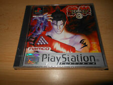 TEKKEN 3 SONY PLAYSTATION PS1, 2, 3 GAME BRAND NEW FACTORY SEALED