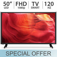 "VIZIO 50"" inch Smart FULL HD 1080p LED FHD TV 120Hz w/ 3 HDMI & USB - E50-D1"