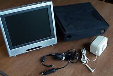 Travel Theater large screen Portable / Car DVD player w/ TV tuner and carry case