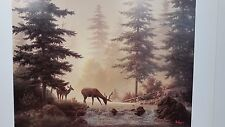 Dalhart Windberg, Spring Velvet, Deer, Limited Edition Print, With Nameplate
