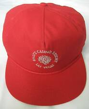 Vintage BALLY'S CASINO RESORT LAS VEGAS Red Adjustable Cali Fame Ball Cap Hat.