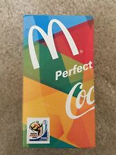 McDonald's Coca-Cola Coke Glass 2010 FIFA World Cup South Africa Japan Edition