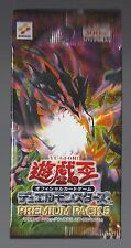 YuGiOh Premium Pack Series 5 Japanese Booster Pack Red Eyes Black Metal Dragon!