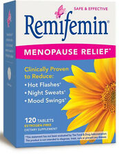 Remifemin - 120 Tablets - Enzymatic Therapy