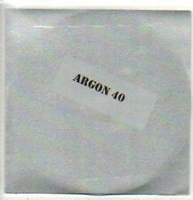 (468J) Argon 40, When The Words Don't Come - DJ CD