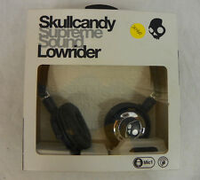 New Skullcandy Lowrider Mic'd Headphones Dark Navy Blue and Silver