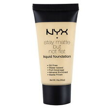 SMF02 - Nude NYX Stay Matte But Not Flat Liquid Foundation 1.18floz, 35ml