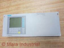 Siemens C79165A3042B14 Ultramat 6 U6 Front Panel 1075.6500.00 - Used