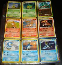 Turtwig, Torterra, Chimchar, Infernape, Piplup, Empoleon Cards and more