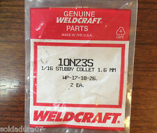 2 Porta Electrodos Soldadura TIG para Torcha WP-17-18-26 WELDCRAFT - Made in USA