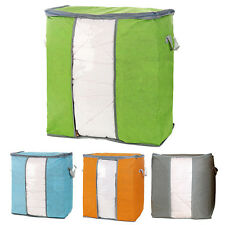 Foldable Storage Bags Clothes Blanket Quilt Closet Sweater Organizer Box Pouch