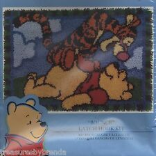Winnie the Pooh Latch Rug Hooking Kit New - BOX DAMAGED
